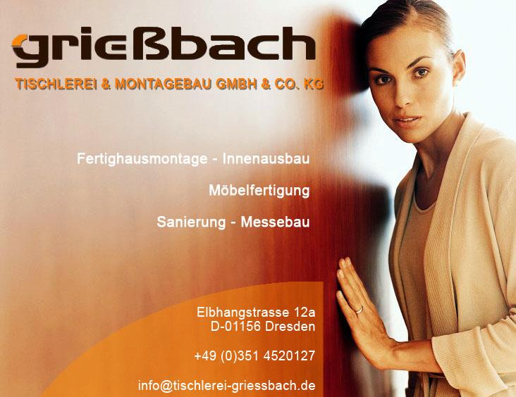 Tischlerei Dresden grießbach tischlerei und montagebau gmbh co kg